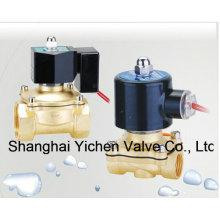 Diaphragm Normally Closed Brass Thread Solenoid Valve (YC2W-C)