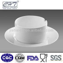 Durable bone china porcelain cigar ashtray