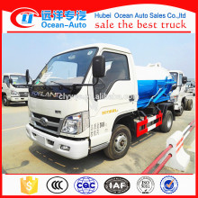 Chinese 1500 - 2000 Liters Foton Sewer Truck for Sale