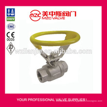Oval Handle 2PC Ball Valve