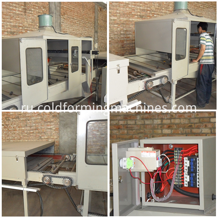 Stone coated roll forming machine