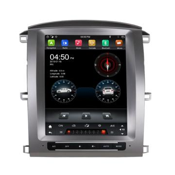 Android touchscreen autoradio voor LC100 / LX470