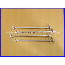 Galvanized &Power Coated Auger Style Earth Anchor, Ground Anchor