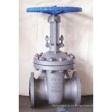Válvula de compuerta de cuerpo dúctil de hierro según norma estadounidense