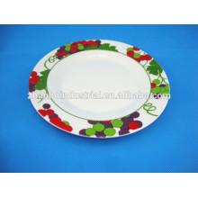 medium quality cheap price ceramic plate
