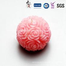 Delicate Unscented Rose bola vela para Casamento