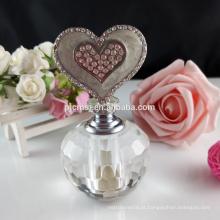 Frasco de perfume 3ml de cristal bonito para o presente e a decoraço