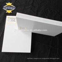Tablero de espuma JINBAO sacó la hoja del celuka del pvc del tablero para la decoración de la pared