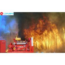 Пожарный насос UL с дизельным двигателем
