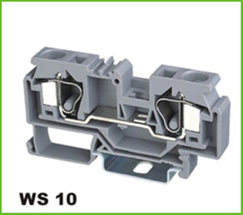 Cage Clamp Wire Spring Mounting Connector Terminal Blocks