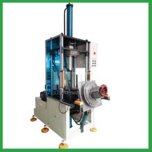Pneumatic stator coil forming machine