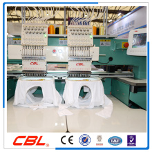 Alta precisión de 2 cabezas de la máquina de bordar del casquillo de venta caliente en China