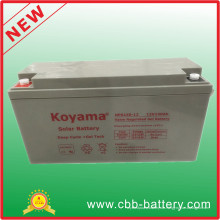 Neue Ankunft nach Maß 12V 150ah Solar Gel Batterie