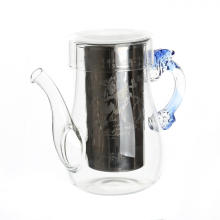 New Product Glass BloomingTeapot With Infuser
