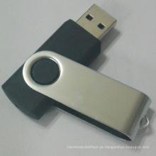 Pendrive USB giratório com logotipo personalizado