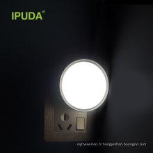IPUDA A3 nouvel article 3D a mené la lumière de nuit pour la lampe futée intelligente d'emergencey