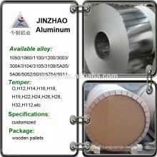 2016 vente en gros de bobines d'aluminium aluminium et aluminium à bas prix