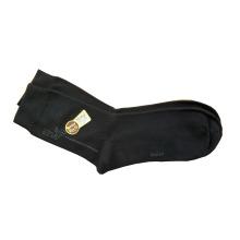 Hombres Mujeres Plain Dress calcetín con Modal y algodón (DMC-02)