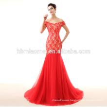 red wedding dress 2017 new model mermaid lace bridal dresses