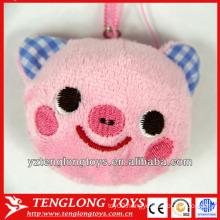 Lovely Pig Head Design Plush Screen Cleaner Mobile Phone Screen Cleaner