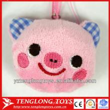 Lovely Pig Head Design Plush Screen Cleaner Мобильный телефон Screen Cleaner