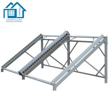 Sistemas de energía solar soporte de montaje de panel solar de aluminio ajustable