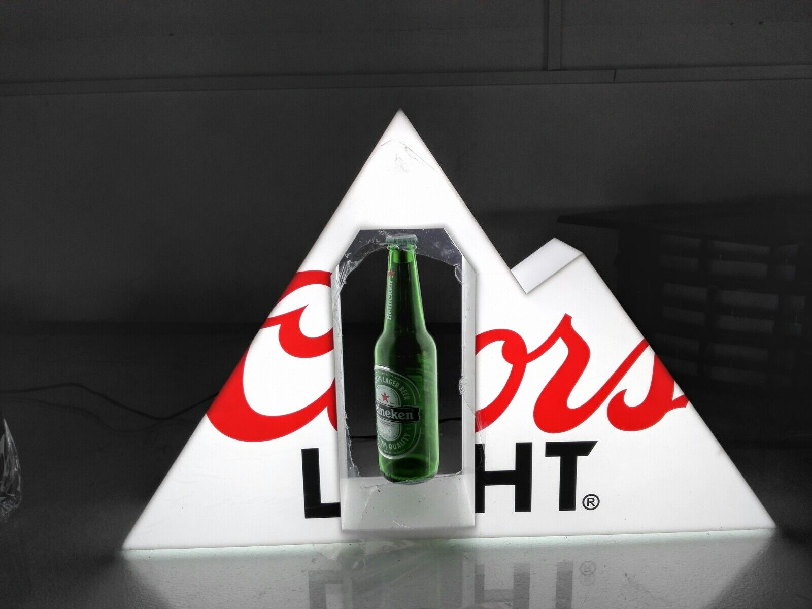 coorslight floating display