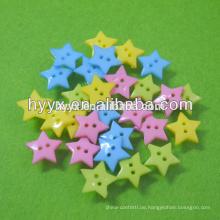 Stern Form Kunststoffknopf