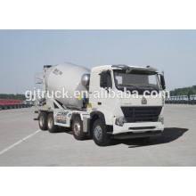 Camión mezclador de cemento Dayun 6X4 drive para 6-12 metros cúbicos