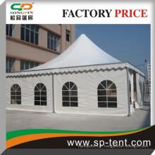 10x10m Tente d'objets de luxe de pagodes d'aluminium à bas prix pour fête de jardin