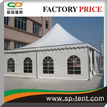 10x10m Cheap Outdoor aluminum pagoda luxury event tent for garden party