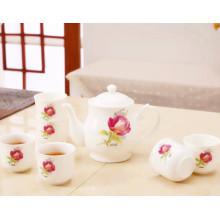Moda design pote de chá elegante chá de cerâmica