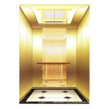 Ascenseur et ascenseur pour passagers en cabine en acier inoxydable (FAST-VVVF)