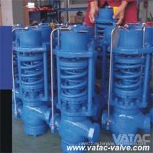 Válvula de control de presión neumática tipo globo
