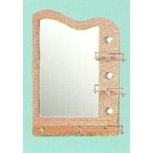 Miroir de salle de bain en verre d'épaisseur 5 mm en épaisseur (81004)