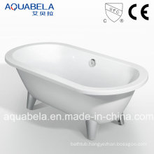 Acrylic Clawfoot Freestanding Bathtub (JL619)