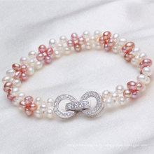 Lovely Bracelet en perle d'eau douce authentique (E150034)