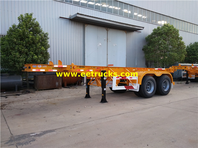 30 Ton Low Flatbed Trailers