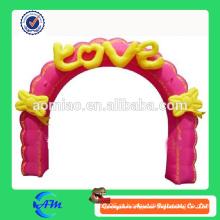 Arco inflável da entrada da decoração do casamento para a venda