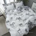 Conjuntos de cama impressos em microfibra 100% poliéster