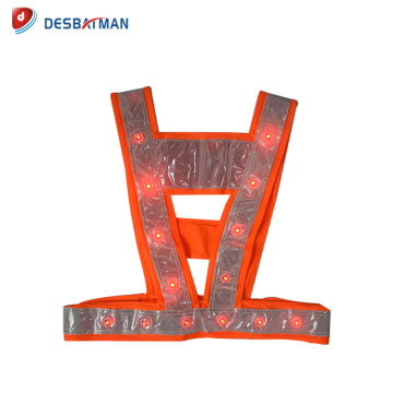 High quality hot sale new series flashing led safety vest
