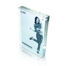 Heiße Verkäufe Freier Acrylplakat-Anzeigen-Feld, Acrylbeschilderungs-Block