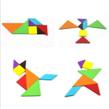 Educational Toy Jigsaw Puzzles Plastic Tangrams Puzzle Toy