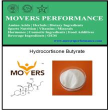Butirato de hidrocortisona de alta calidad con CAS No: 13609-67-1