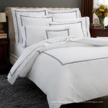 Luxus Bestickte Bettwäsche Duvet Quilt Cover Set