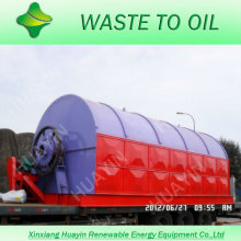 el reciclaje de residuos de plástico del hospital para alimentar
