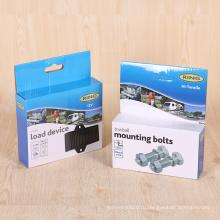 Изготовленное на заказ печатание металлическая арматура в розницу бумажные гофрированные коробки упаковки
