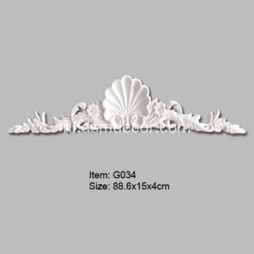 Decoratief Element Met Shell Vorm