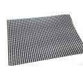 Tissu à mailles ouvertes en fibre de verre enduit de PTFE 4 * 4mm