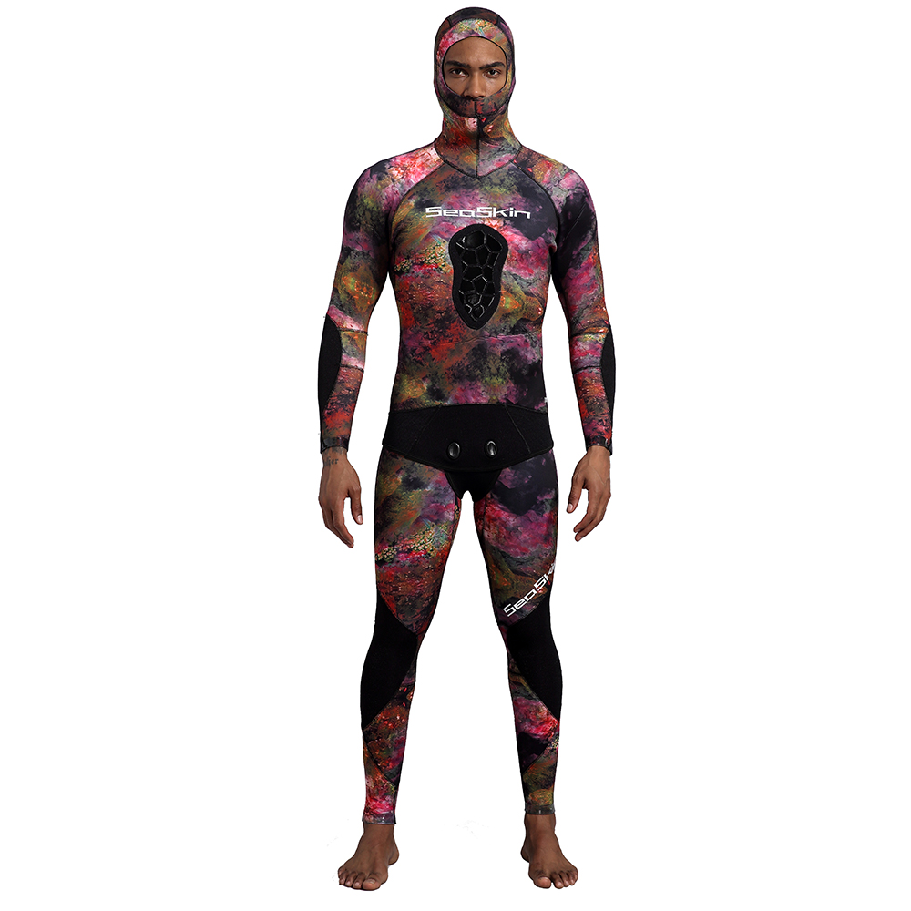 Spearfishing Wetsuit Top with Pants